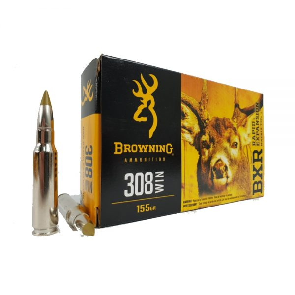 Browning BXR RAPID EXPANSION 308 Win 155 graina