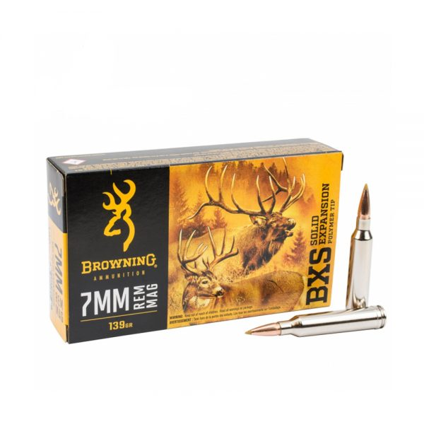 Browning BXS cal.7mm Rem Mag 90 grama