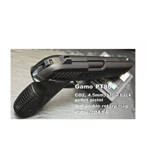 GAMO zracni pistolji 45 mm na ampule CO2 ili break barrel 1