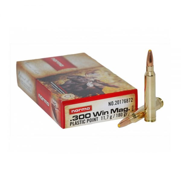 NORMA 300 Win Mag 117 g PPDC PLASTIC POINT