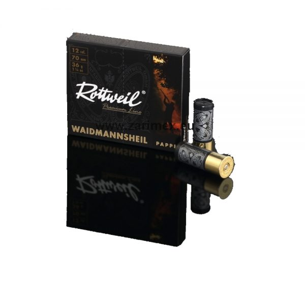 ROTTWEIL WAIDMANNSHELL36g 1270 2.2mm plastik pakir. 10 kom.