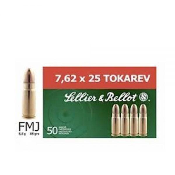 SellierBellot 762x25 TT TOKAROV 55grama 1