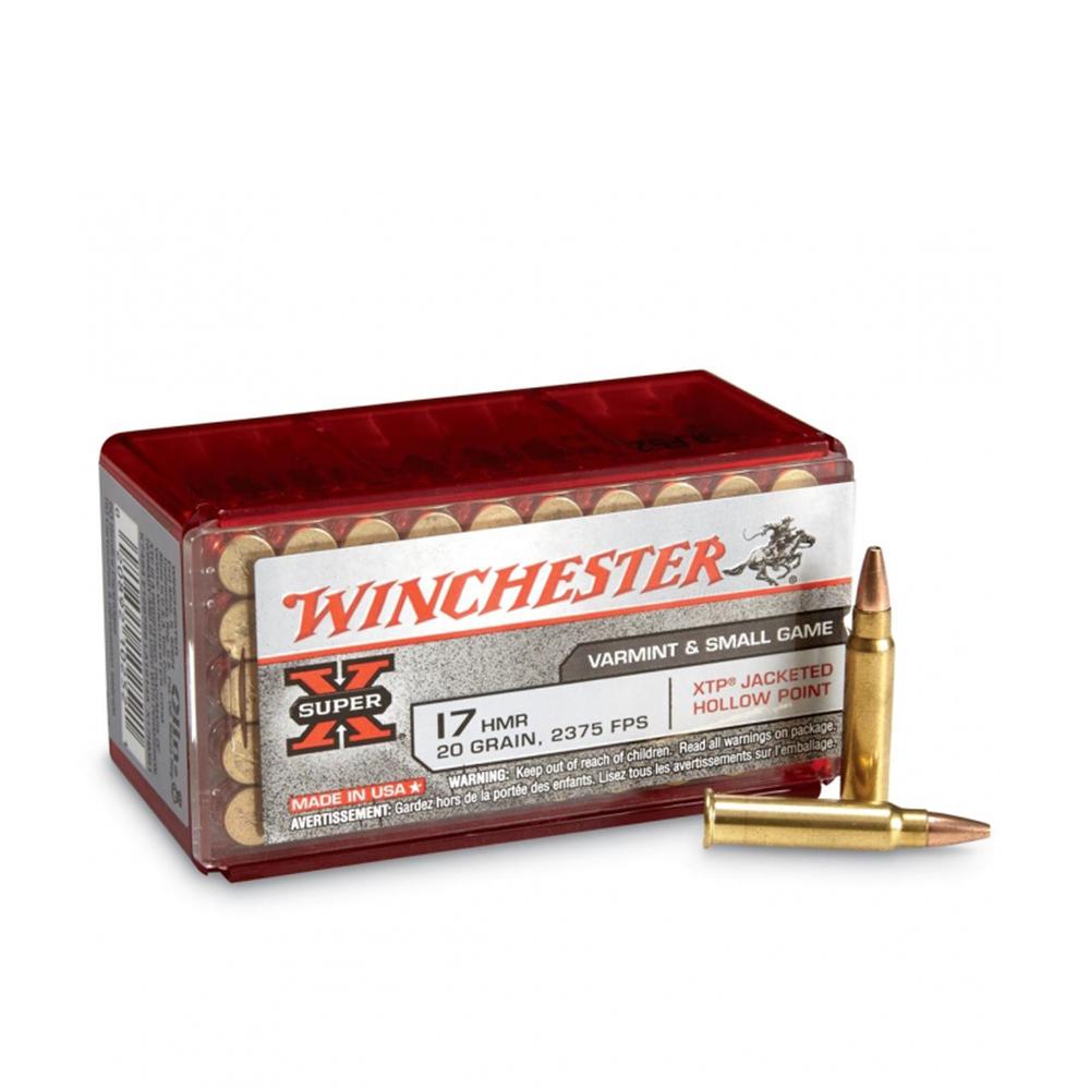 WINCHESTER 17 HMR SUPER X JHP 13g