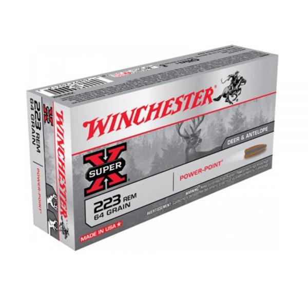 WINCHESTER 223 REM SUPER X 36g