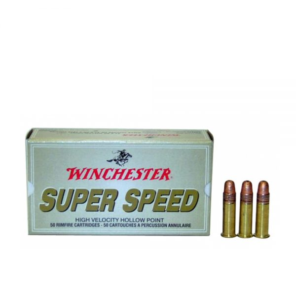 WINCHESTER 22LR HP SUPER SPEED 25g 50 kom.