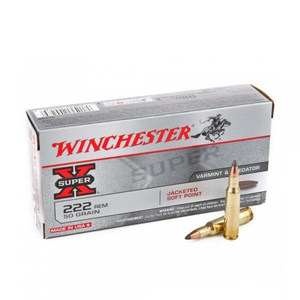 Winchester 222 Rem SUPER X 36g 1